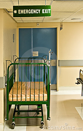 Hospital Bed Emergency Exit
