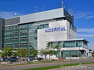 Hospital Building Stock Photo - Image: 59693686