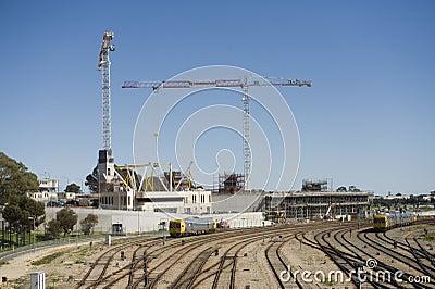 Hospital Construction Editorial Photo