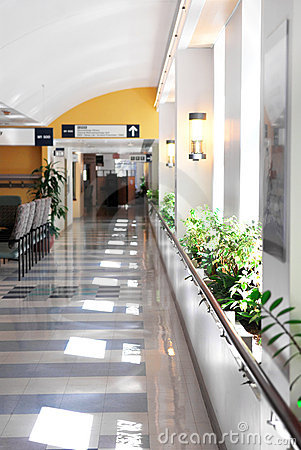 Free Hospital Corridor Royalty Free Stock Images - 3165609