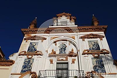 Hospital de la Caridad, Sevilla, Spanien.