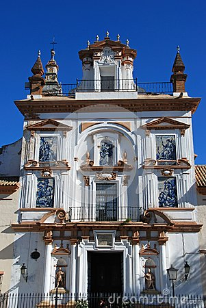 Hospital DE La Caridad, Sevilla, Spanje.