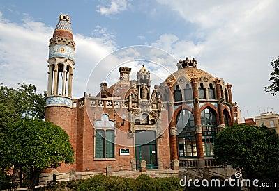 Hospital de la Santa Creu in Barcelona, Spain