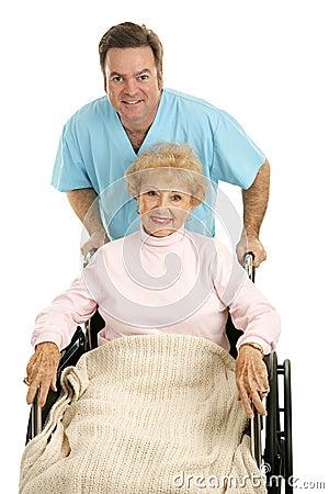 Free Hospital Discharge Stock Image - 3701061