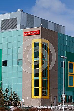 Hospital Emergency Editorial Image