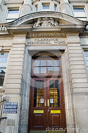 Hospital Entrance, Paddington Editorial Stock Photo