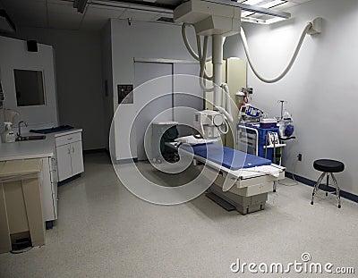 Hospital exam room