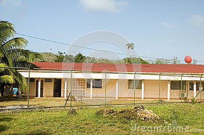 Hospital medical center clinic Big Corn Island Nicaragua Central
