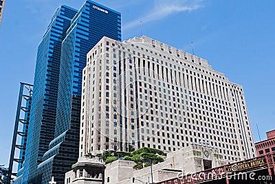 Hospital quirúrgico nacional en Chicago Illinois Imagen de archivo editorial