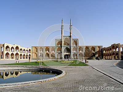Hosseineh in the centre of Yazd