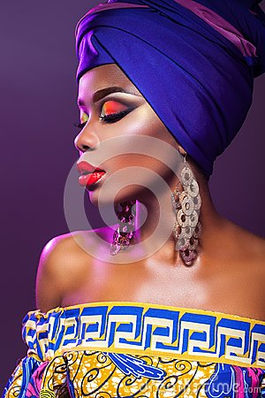 Free Hot African Beauty Royalty Free Stock Image - 125050466
