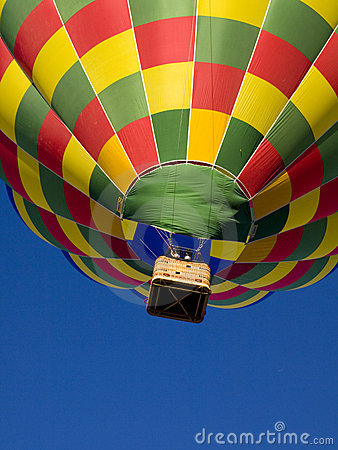 Free Hot Air Ballon. Royalty Free Stock Photos - 4236038