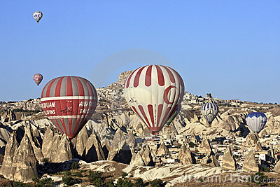 Hot Air Ballons Editorial Stock Image