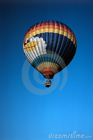 Hot Air Balloon Editorial Stock Photo