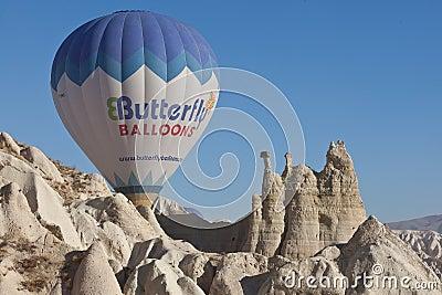 Hot Air Balloon Editorial Photography