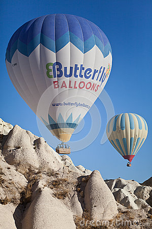 Hot Air Balloon Editorial Photography