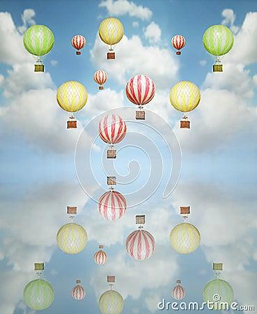 Free Hot Air Balloon Royalty Free Stock Photo - 27659655