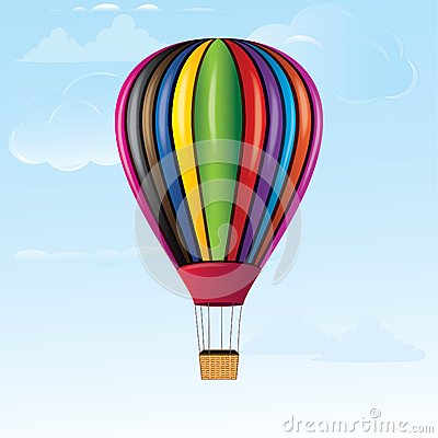 Hot Air Balloon Stock Photography - Image: 28647802