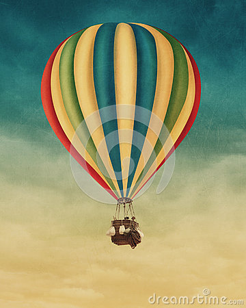 Free Hot Air Balloon Stock Photography - 35316972