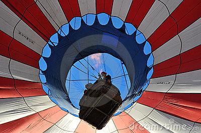 Hot Air Balloon Editorial Stock Image
