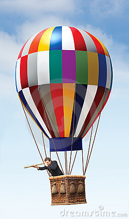 Free Hot Air Balloon Royalty Free Stock Image - 5839696