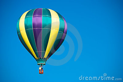 Hot Air Balloon blue sky