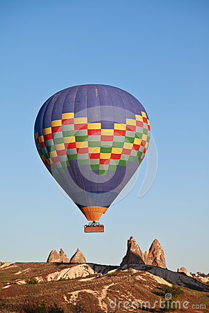 Hot air balloon, Cappadocia, Turkey
