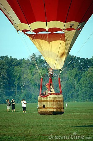 Hot Air Balloon Competition Editorial Photo