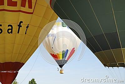 Hot Air Balloon Festival Editorial Image