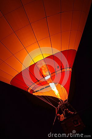 Free Hot Air Balloon Flying Stock Image - 103079101