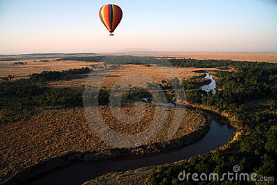 Hot Air Balloon (Kenya)