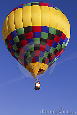 Hot Air Balloon Over Arizona