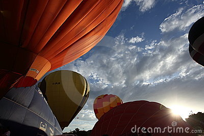 Hot Air Balloon Putrajaya Editorial Photography