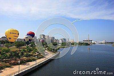 Hot Air Balloon Putrajaya Editorial Photo