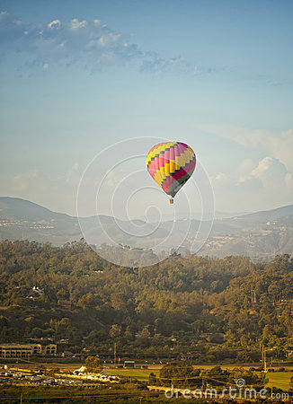 Hot Air Balloon, Rancho Santa Fe, California
