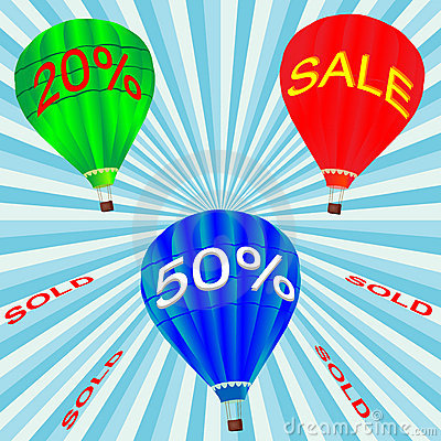 Hot air balloon for sale