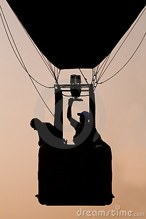 Hot Air Balloon Sillouette
