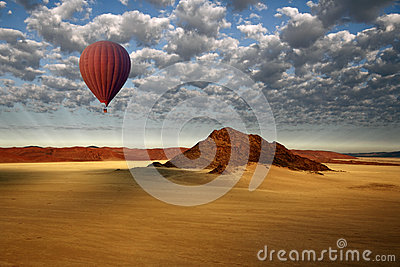 Hot Air Balloon - Sossusvlei - Namibia