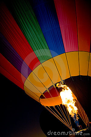 Free Hot Air Balloon Torch Royalty Free Stock Image - 1329876