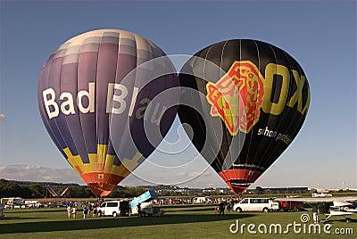 Hot Air Balloons Editorial Photo