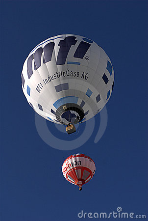 Hot Air Balloons Editorial Photo