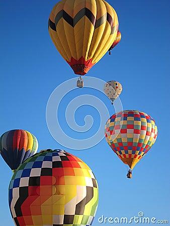 Free Hot Air Balloons Stock Photography - 34729892