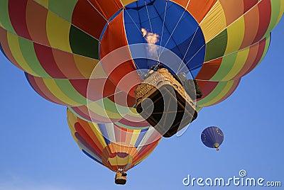 Hot air balloons 6