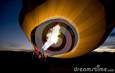 Hot air baloon burner