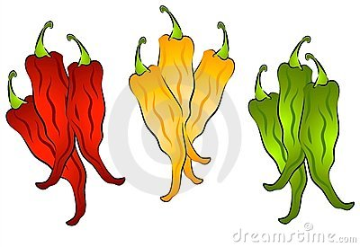 Hot Chili Peppers Clip Art 2