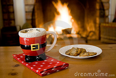 Hot Cocoa & cookies