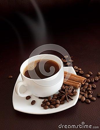 Free Hot Coffee Stock Image - 14049481