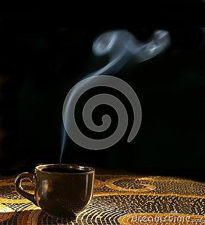 Free Hot Coffee Stock Photo - 436190