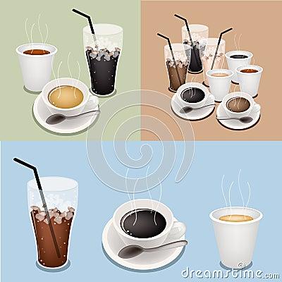 Hot Coffee, Takeaway Coffee and Iced Coffee