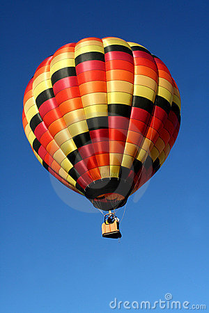 Free Hot Colors Hot Air Balloon Royalty Free Stock Images - 2548379